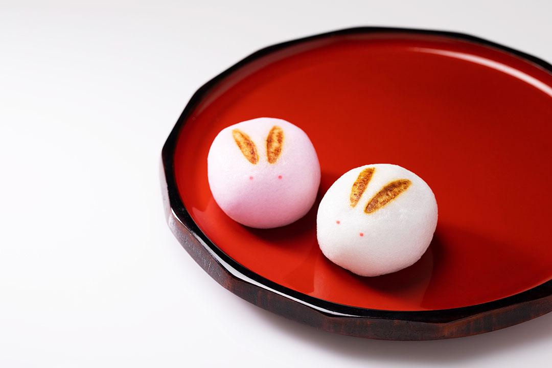 うさぎ饅頭(こしあん)